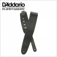 Basic Classic Leather Guitar Strap, 25BL00 Black